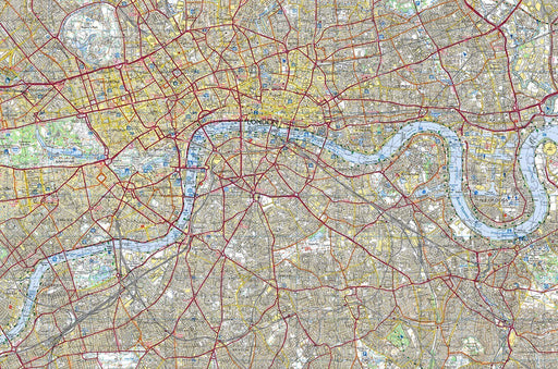 London City Map Jigsaw Puzzle 300 Piece Wooden Jigsaw Puzzle - All Jigsaw Puzzles