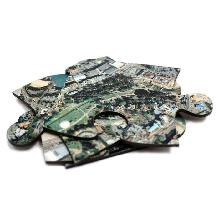 Aerial Photo Coasters - Centred on Your Address - All Jigsaw Puzzles