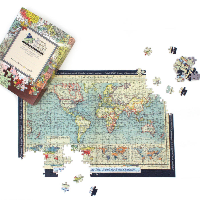Personalized World Map Jigsaw Puzzle - All Jigsaw Puzzles