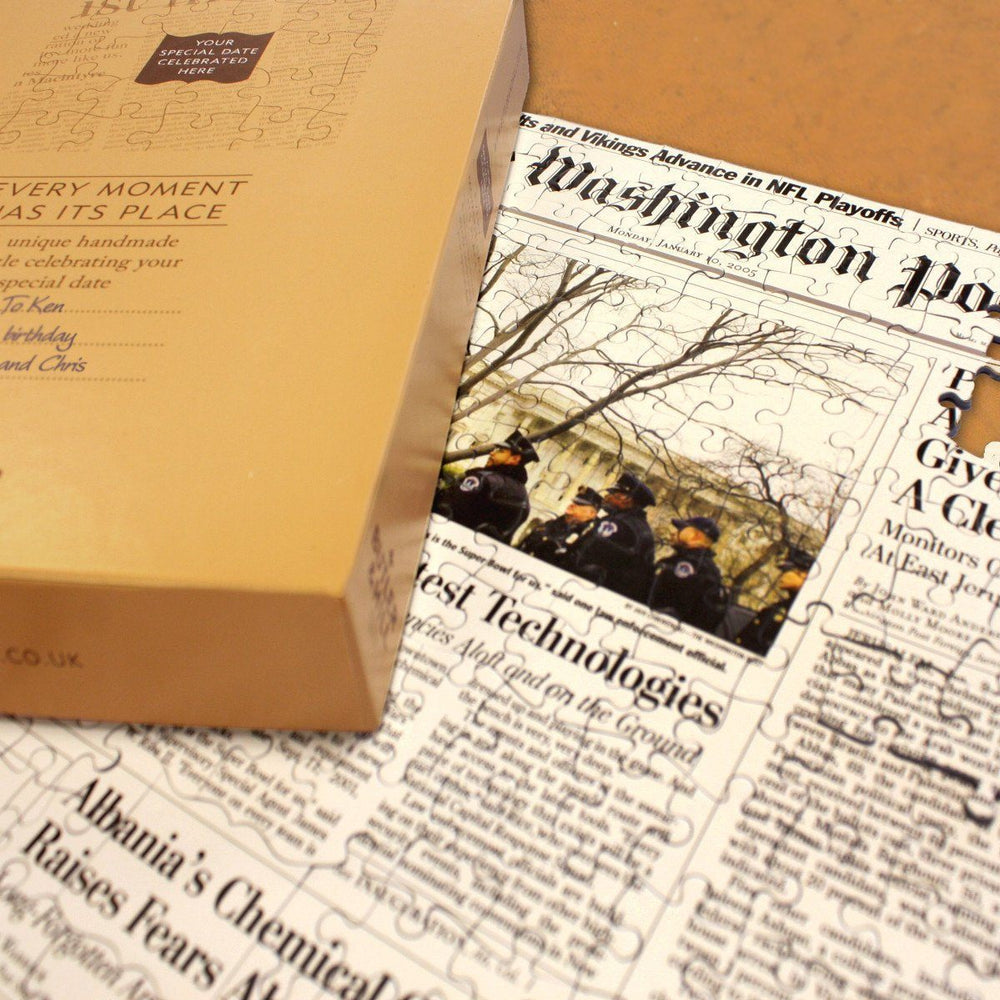Washington Post Birthday Jigsaw Puzzle - All Jigsaw Puzzles