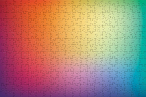 Blurry Rainbow - Impuzzible - 300 Piece Wooden Jigsaw Puzzle - All Jigsaw Puzzles