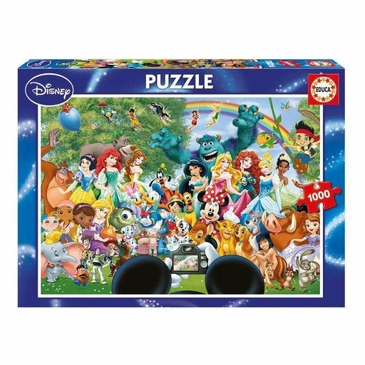 The Marvelous World of Disney - Educa 1000 Piece Jigsaw Puzzle