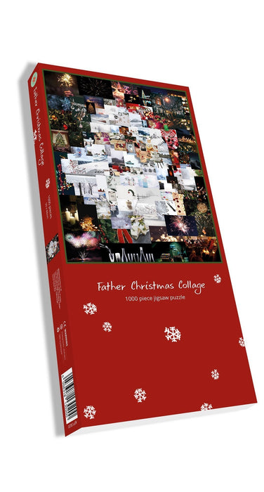 Father Christmas Collage 1000 Piece Jigsaw Puzzle - All Jigsaw Puzzles