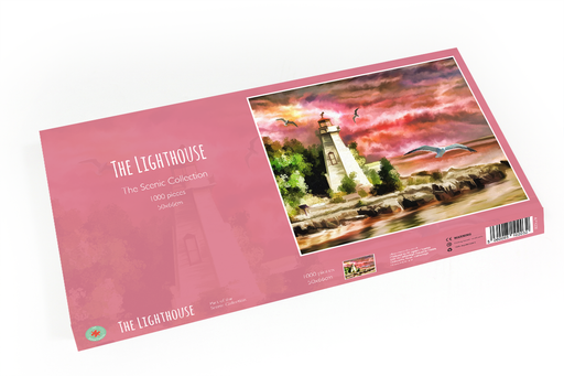 The Lighthouse 1000 Piece Jigsaw Puzzle - All Jigsaw Puzzles