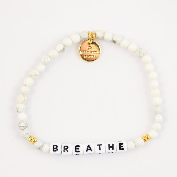 Breathe- White Howlite