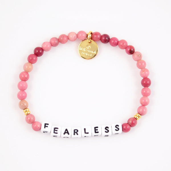Fearless- Rhodonite