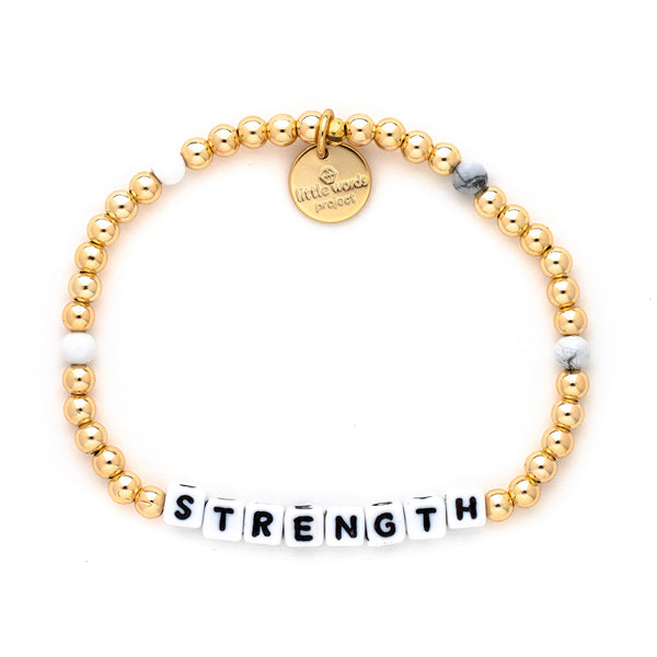 Strength- Gold-Filled