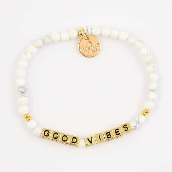 Load image into Gallery viewer, Good Vibes- White Howlite