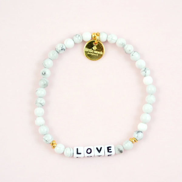 Load image into Gallery viewer, Love- White Howlite