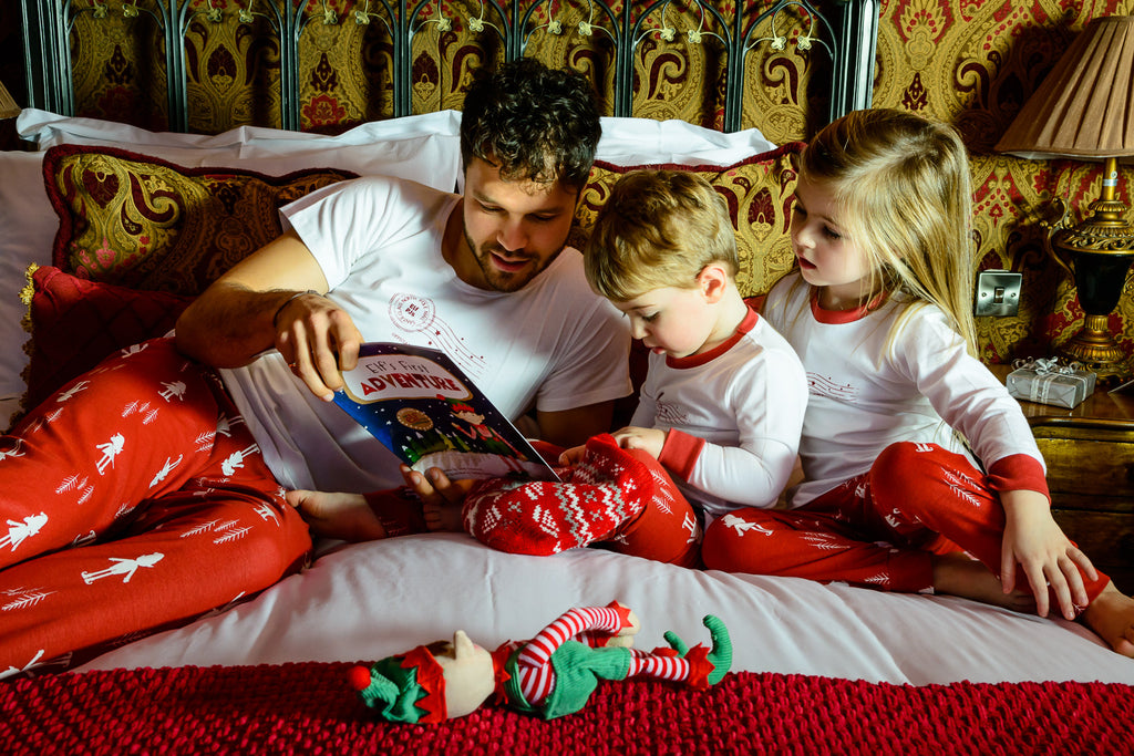 One more sleep to go! Celebrate Christmas Eve with our gorgeous matching family pyjamas