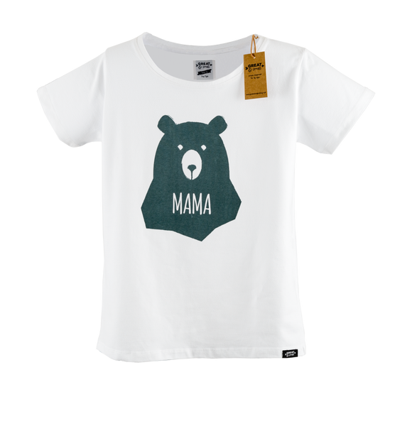 Limited Edition Mama Bear Tee Shirt - Great and small clothing