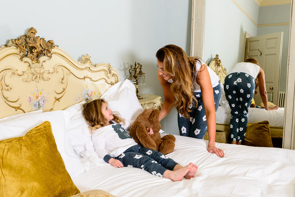 Bear Hugs MAMA Matching Family Pyjamas with Vest - Great and small clothing