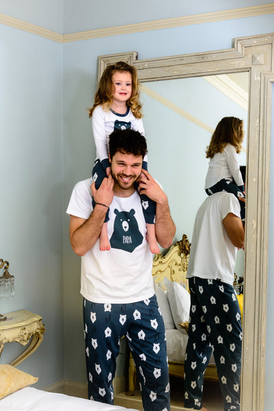 937a9614df Bear hugs papa matching family pyjamas with tee great and small clothing  jpg 400x600 Matching family