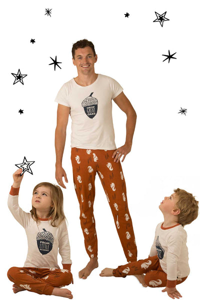 Nuts About You One Adult and Two Children Bundle - Great and small clothing