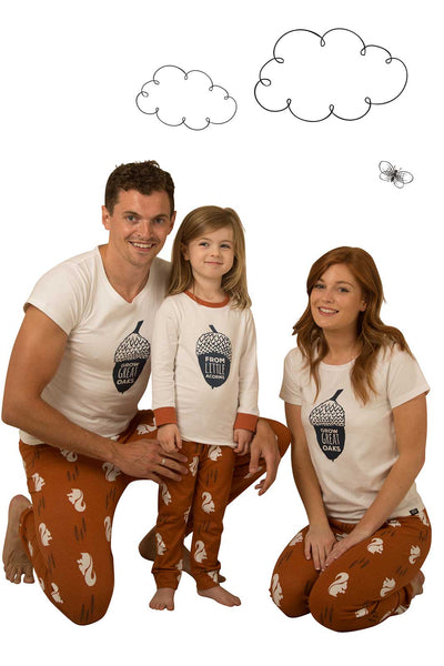 Nuts About You Two Adults and One Child Bundle - Great and small clothing