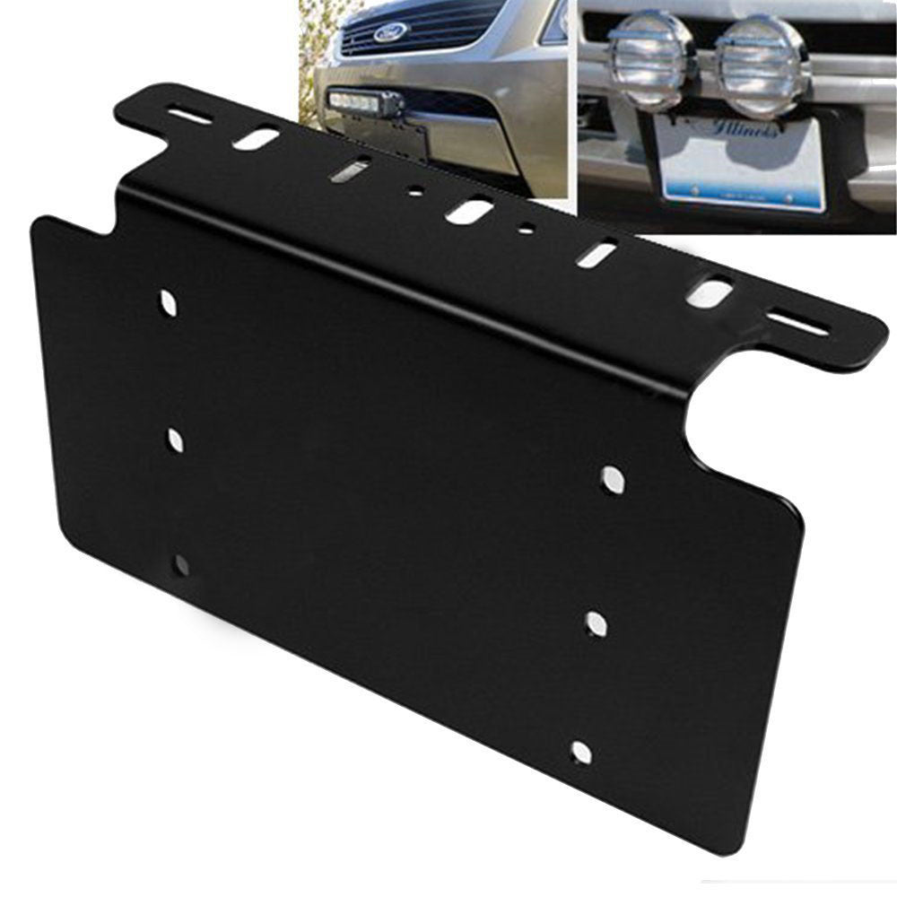 License plate mount bracket holder for offroad led light bar license plate mount bracket holder for offroad led light bar mozeypictures Images