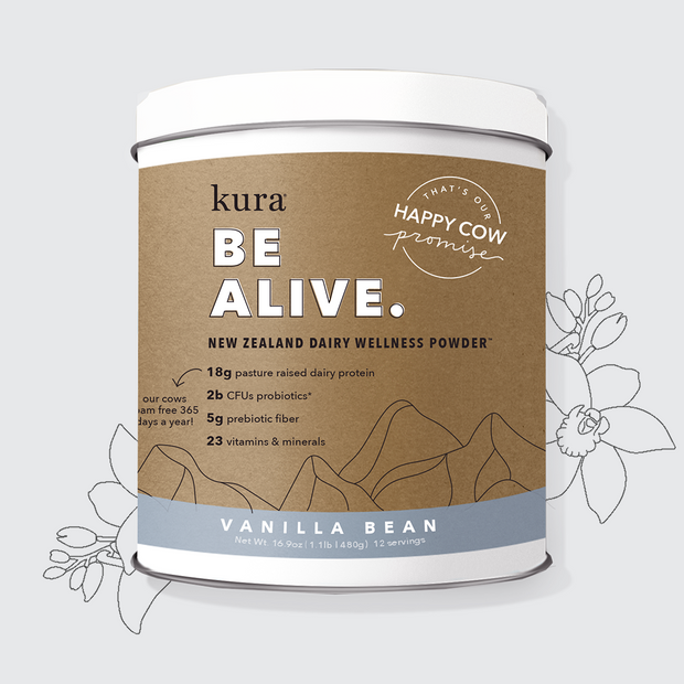 Vanilla Bean | New Zealand Dairy Wellness Powder