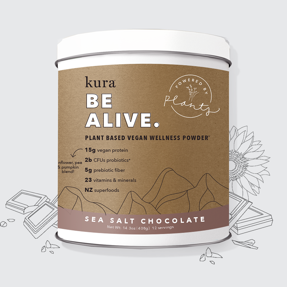 Sea Salt Chocolate | Plant Based Vegan Wellness Powder