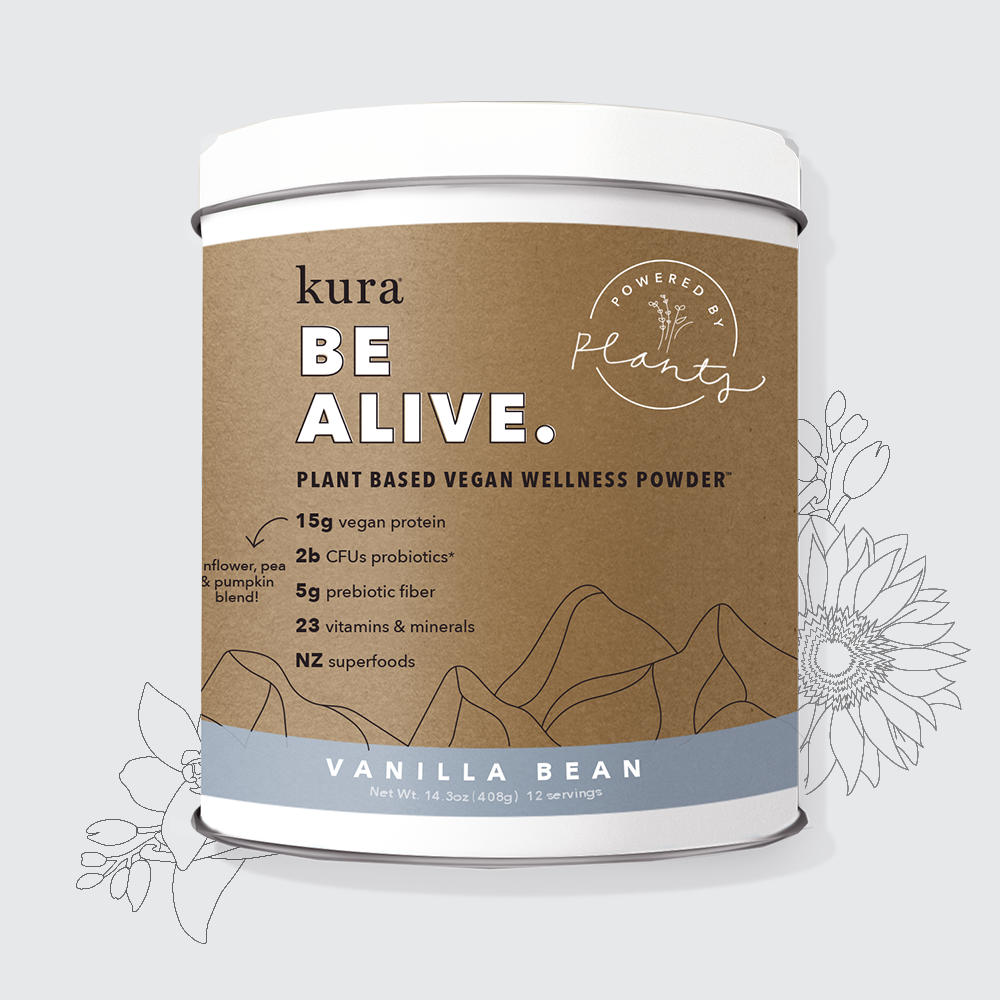 Vanilla Bean | Plant Based Vegan Wellness Powder