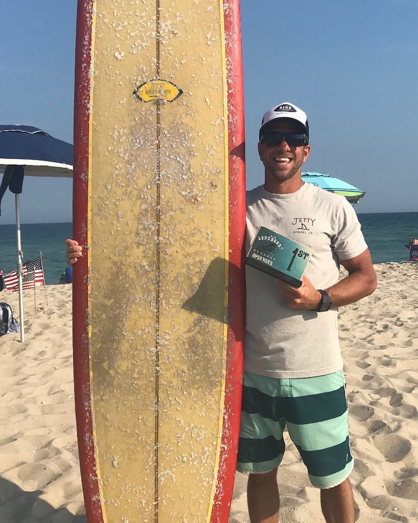 Contreras repeats at ALO Longboard Classic