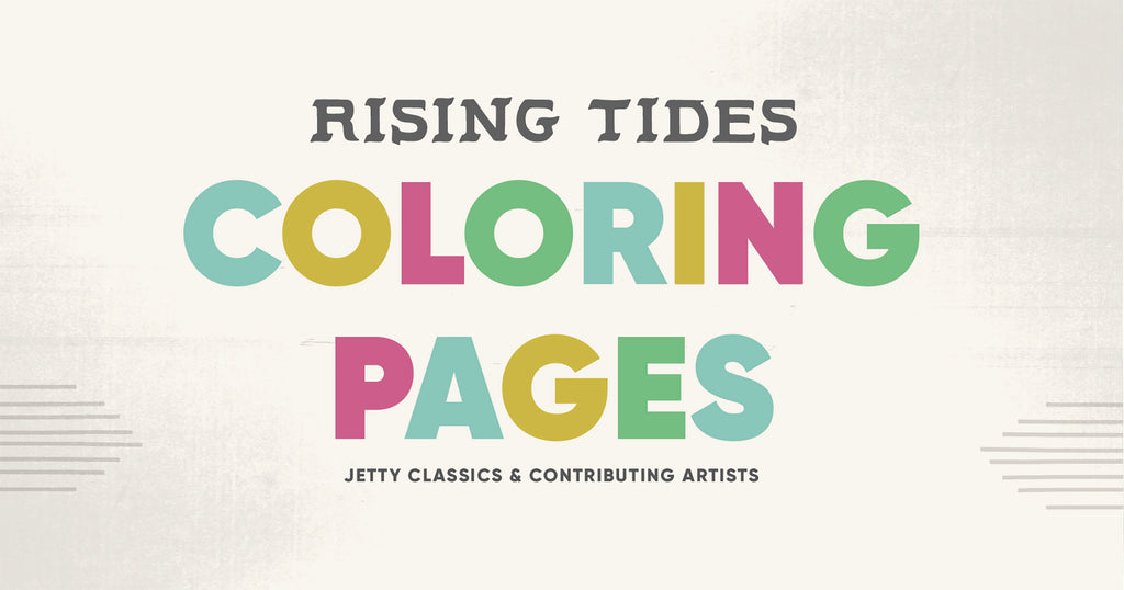 Rising Tides Coloring Pages