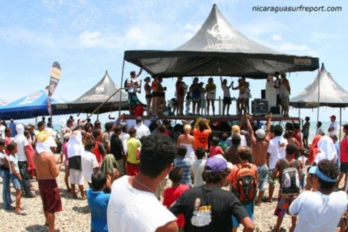 Nicaragua Surf Contest by Donald