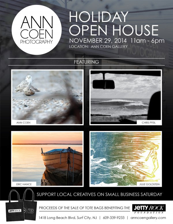 Ann Coen Holiday Open House Flyer
