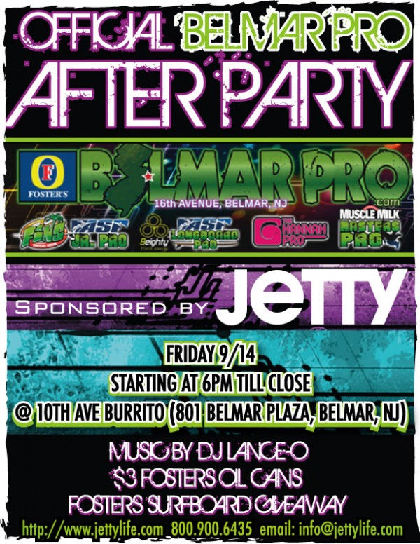 Belmar PRO Official After Party