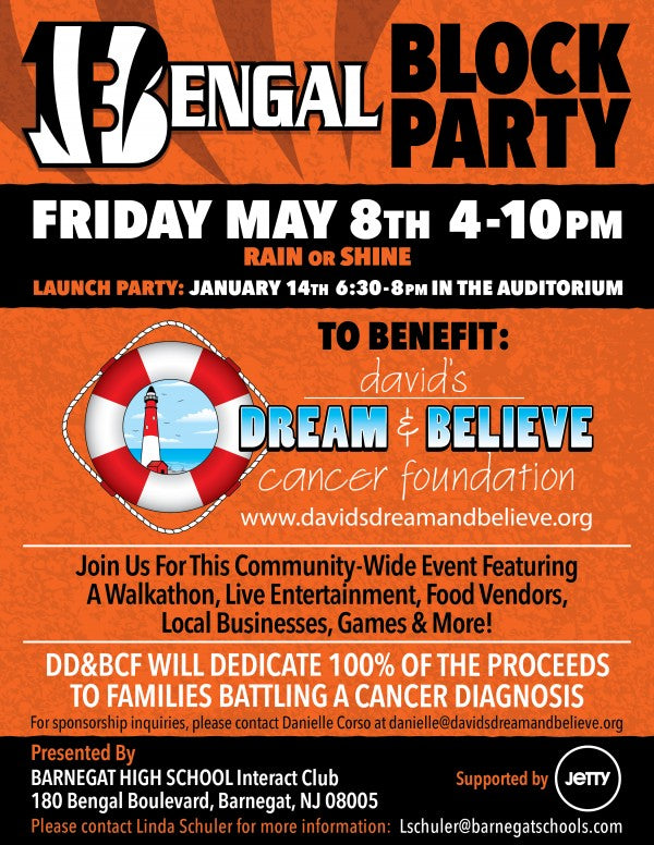 Bengal Block Party Flyer