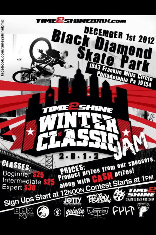Time 2 Shine Winter Classic Jam