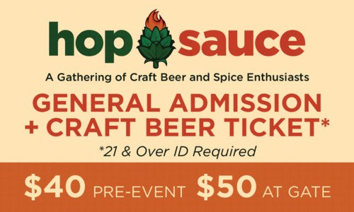 Hop Sauce Web Ticket Craft Beer (500)-500