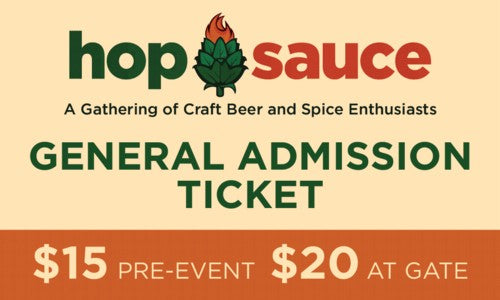 Hop Sauce Web Ticket General (500)-500