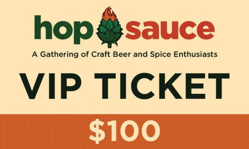Hop Sauce Web Ticket VIP (500)-500