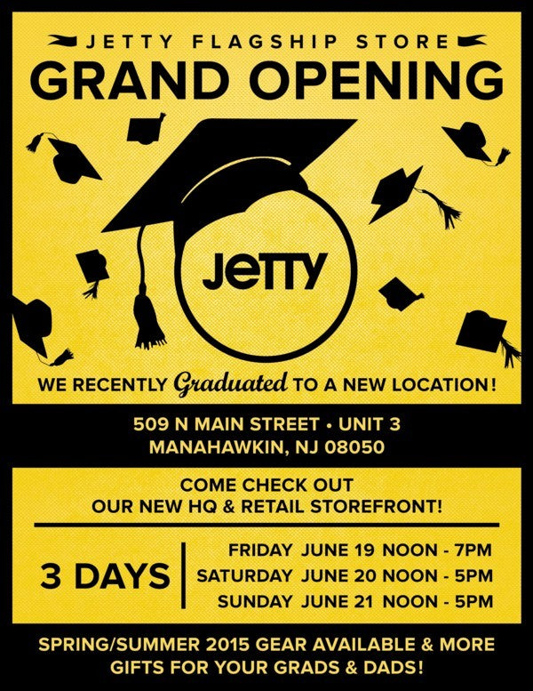 Jetty x Southern Grand Opening Flyer-600