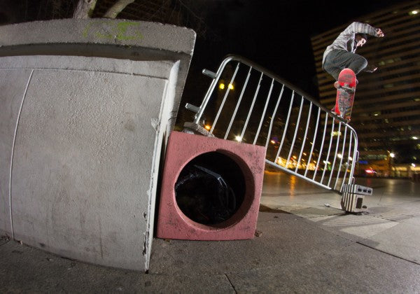 Joey Marrone, Crook, Love Park, 2015-blog