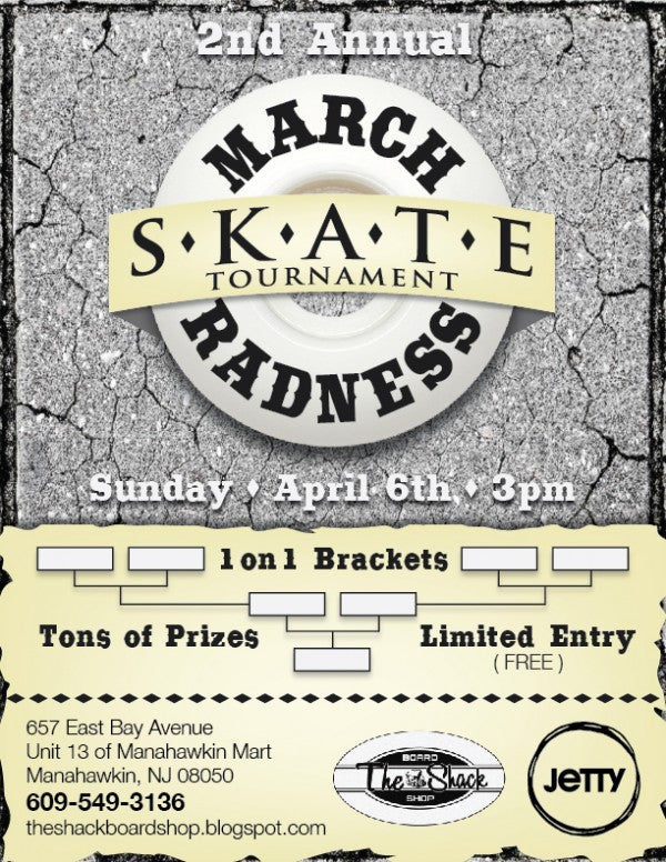 March Radness Flyer 2014
