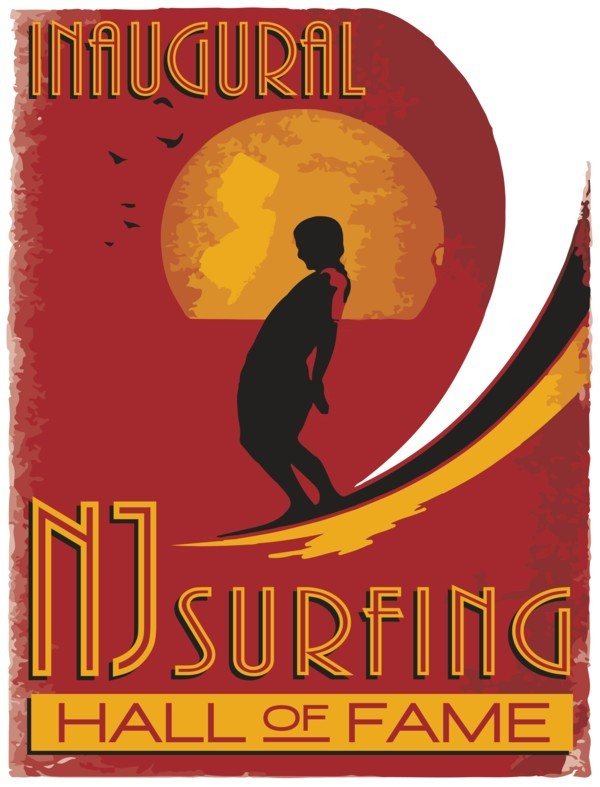NJ Surfing Hall of Fame Artwork - blog