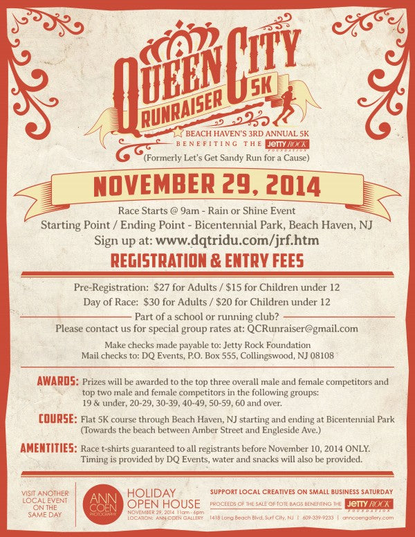 Queen City Runraiser Flyer