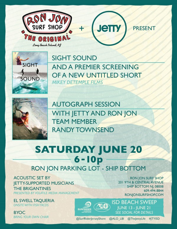 Ron Jon Surf Movie 8.5x11 Main Flyer