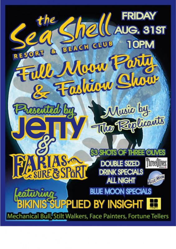Seashell Full Moon Party & Fashion Show