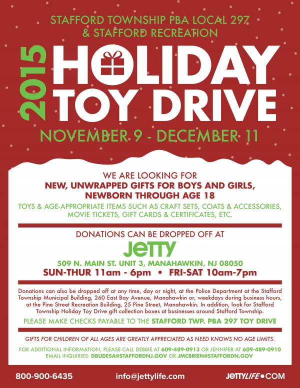 Stafford Toy Drive Flyer
