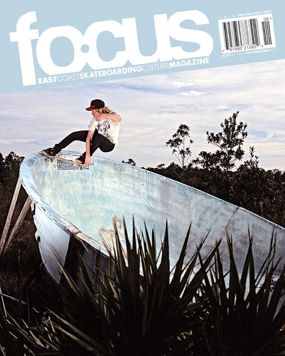 Fritz Mead Focus Skateboard Magazine