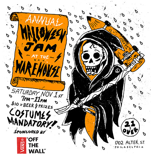halloween jam - philly warehouse