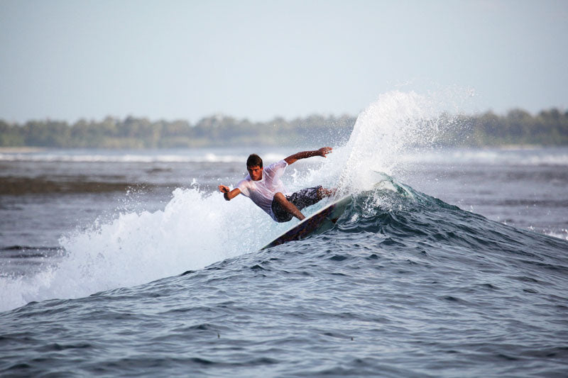 Randal Townsend Surfing Indonesia