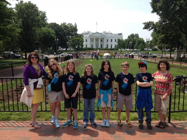 LBI School at the White House
