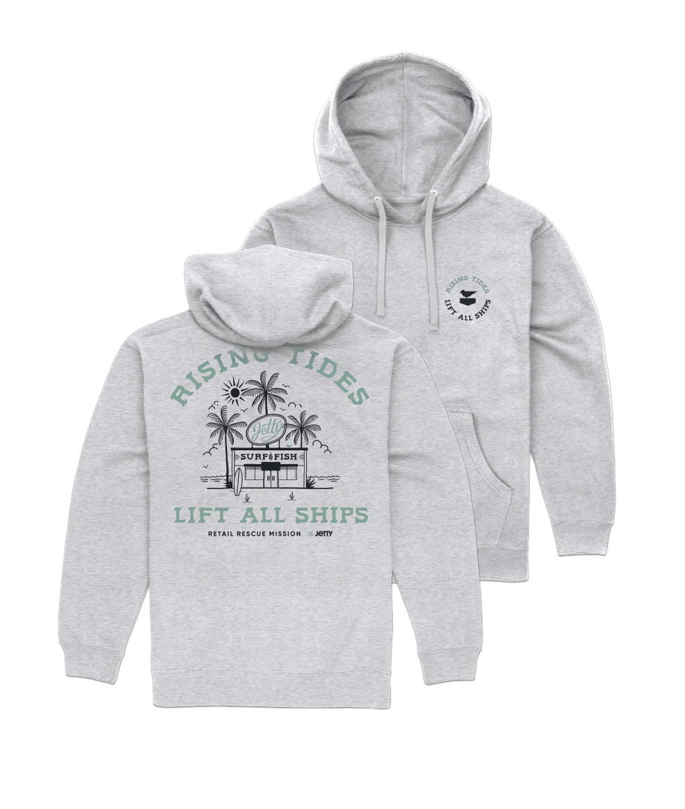 Rising Tide Hoodies