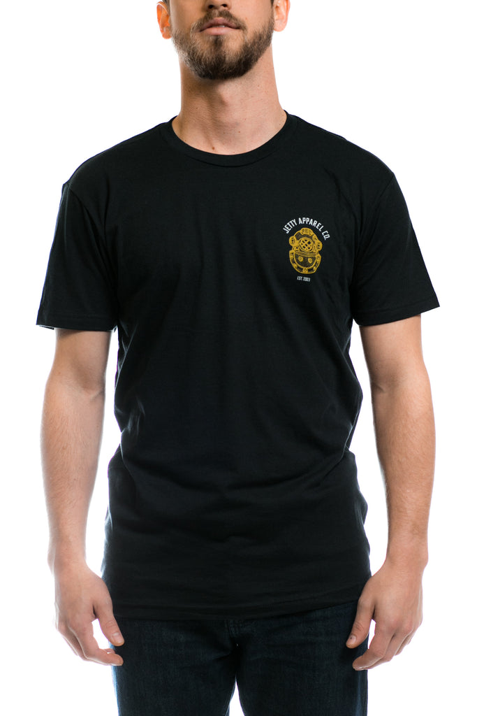 Jetty - Guardian Tee- Black
