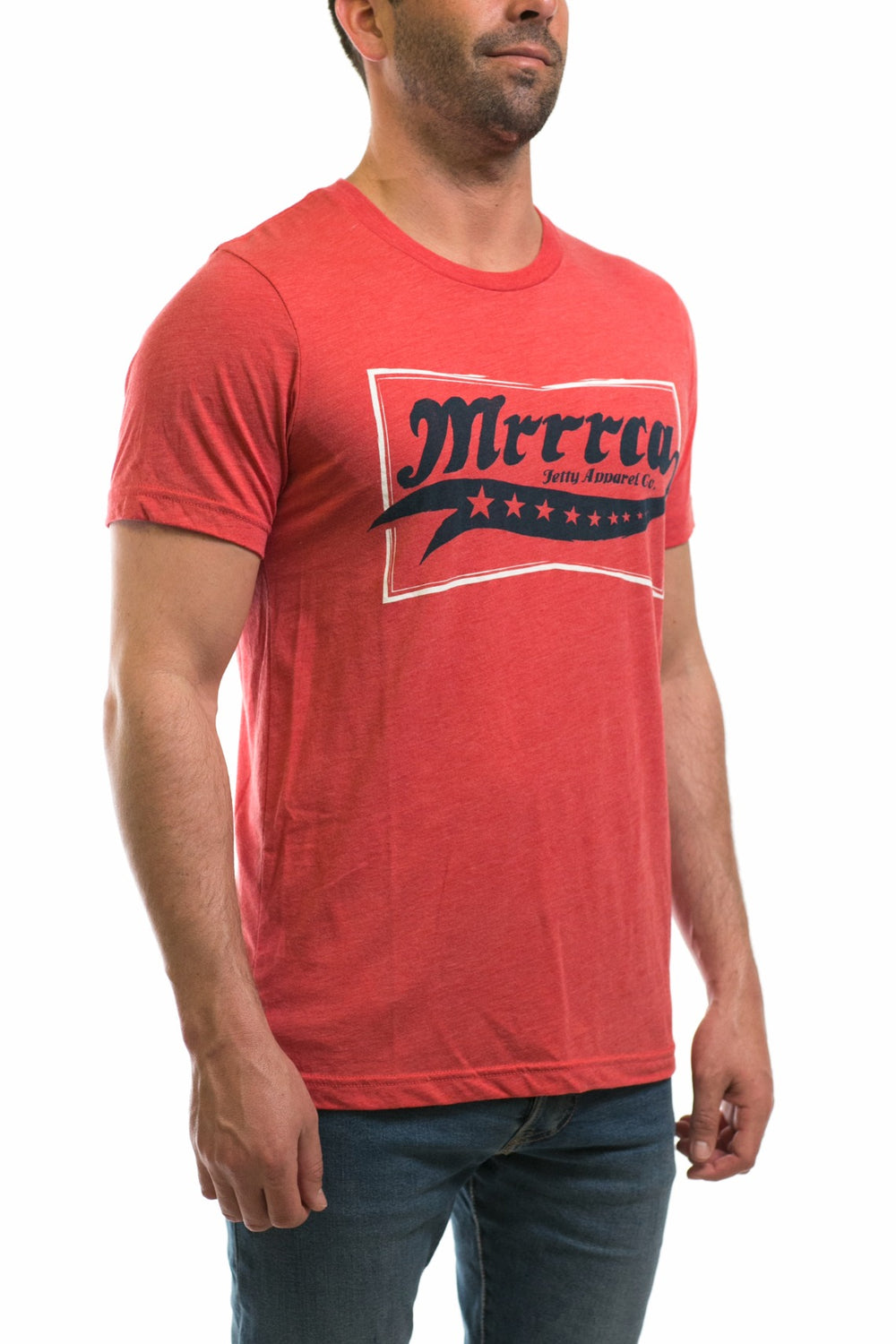 Mrrrca Tee- Red