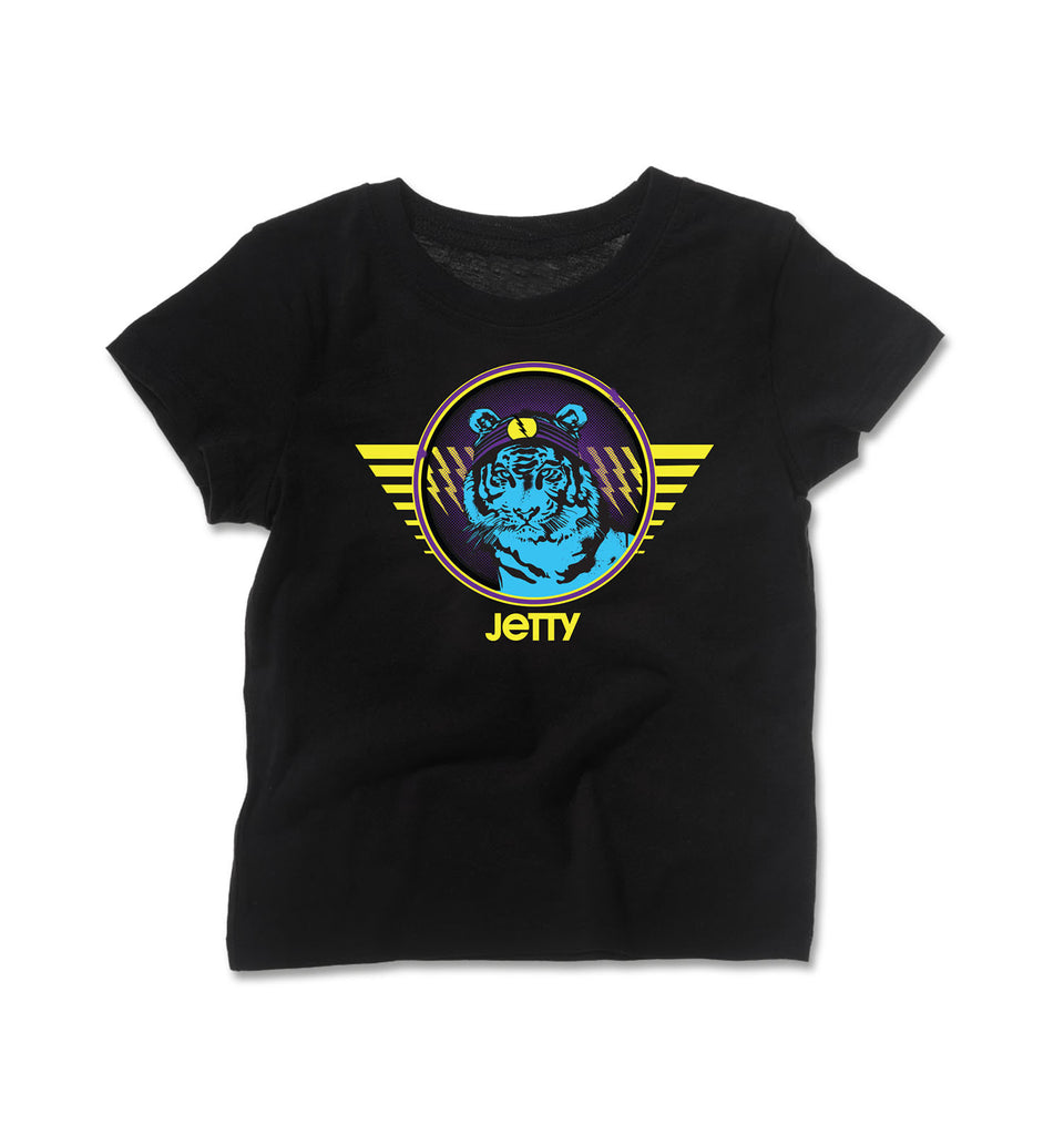 Jetty - Tot Electrocat Tee- Black
