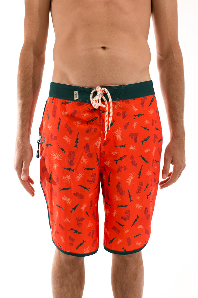 La Bomba Orange Boardshort - Jetty - 1